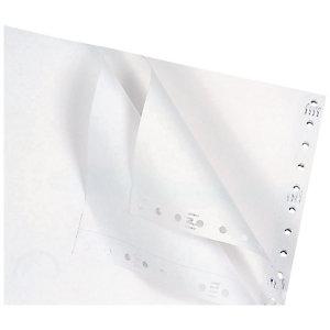 """Exacompta Papier listing 380 mm X11"""" pli, sans impression, 70g, BCD (rammette 200 feuilles)"""