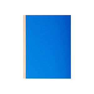 Exacompta Paquet de 10 chemises à dos toilé, carte 320 grammes, dos 3cm, 24x32cm, coloris assortis