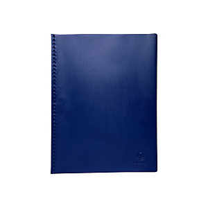 Exacompta Protège document 100 vues soudé VEGA, couverture PVC 3/10e, coloris assortis opaques