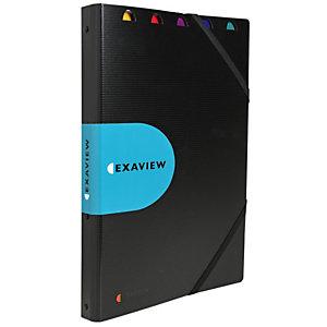 Exacompta Protège-documents Exaview Exactive® 40pochettes A4 24x32cm Polypropylène Noir