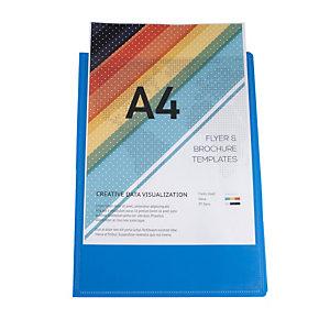 Exacompta Protège-documents en polypropylène semi rigide Kreacover Opaque 80 vues - A4