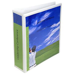 Exacompta Registratore archivio personalizzabile Kreacover, Dorso 8,8 cm, 29 x 32 cm, Bianco