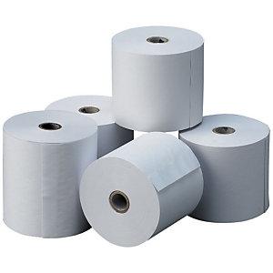 Exacompta Rollo de papel térmico sin BPA 76 x 70 x 12 mm 55 gr