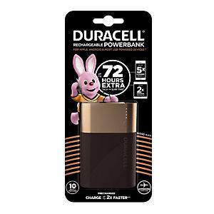 Externe batterij/ oplader voor mobiele apparaten Power Bank Duracell 10050 mAh, 2 usb-poorten