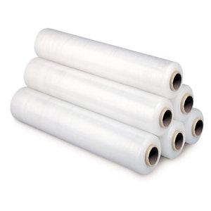 Extra elastische rekfolie voor handmatig wikkelen 450 mm