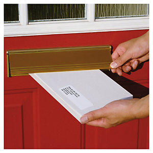 Extra flat postal boxes are designed to fit standard letter boxes
