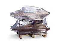 Extra klevende transparante rekfolie van het type geblazen extrusie