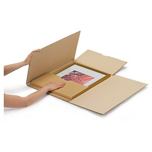 Extra-large flat boxes offer an extra layer of protection and a great unboxing experience