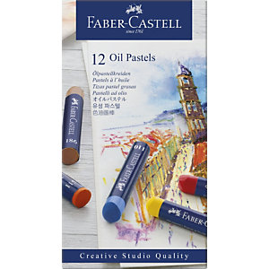 Faber-Castell Goldfaber Studio Oil Ceras pastel, colores surtidos