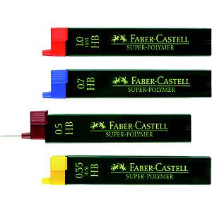Faber-Castell Super-Polymer, Minas de portaminas, mina HB de 0,5 mm