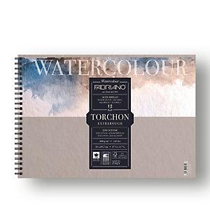 FABRIANO Blocco Watercolour Torchon - 21x29,7cm - 12 fogli - 300gr - spiralato - Fabriano