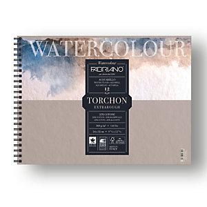 FABRIANO Blocco Watercolour Torchon - 24x32cm - 12 fogli - 300gr - spiralato - Fabriano