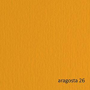FABRIANO Cartoncino Elle Erre - 50x70cm - 220gr - aragosta 26 - Fabriano - blister 20 fogli