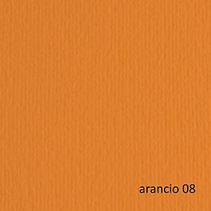 FABRIANO Cartoncino Elle Erre - 50x70cm - 220gr - arancio 108 - Fabriano -  blister 20 fogli
