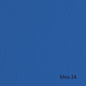 FABRIANO Cartoncino Elle Erre - 50x70cm - 220gr - blu 114 - Fabriano -  blister 20 fogli