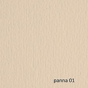 FABRIANO Cartoncino Elle Erre - 50x70cm - 220gr - panna 101 - Fabriano - blister 20 fogli