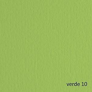 FABRIANO Cartoncino Elle Erre - 50x70cm - 220gr - verde pisello 110 - Fabriano -  blister 20 fogli