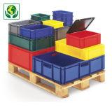 Farbige Euronorm-Stapelbehälter, Länge 600 mm