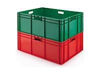 Farbige Euronorm-Stapelbehälter, Länge 800 mm