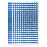 Farbige Markierungspunkte auf DIN A5 Bogen