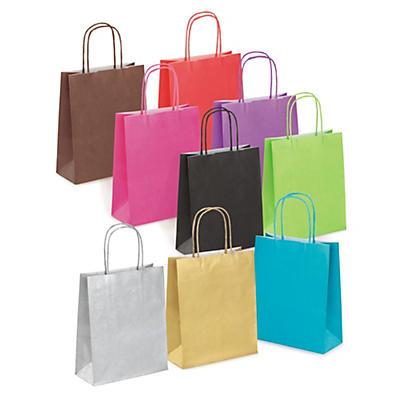 Mini-sac couleur##Farbige Papier-Tragetaschen Mini