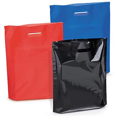 Farebné igelitové tašky