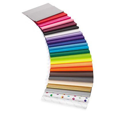 Färgade silkespapper - inpackning & skydd av ömtåliga produkter