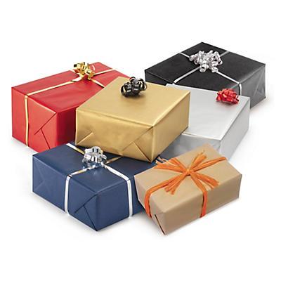 Färgat presentpapper