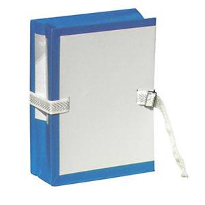 Fast Pochette archives à soufflet - Dos 10 cm - Bleu