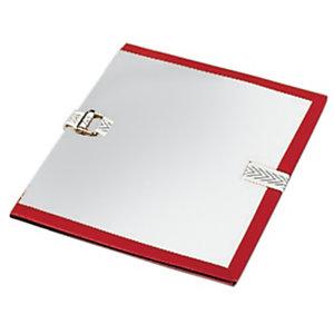 Fast Pochette archives à soufflet - Dos 10 cm - Rouge