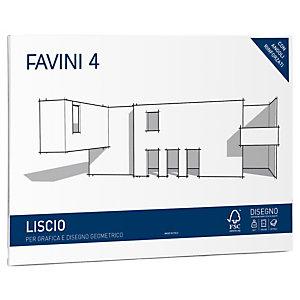 FAVINI Album Favini 4 - 33x48cm - 220gr - 20 fogli - liscio - Favini