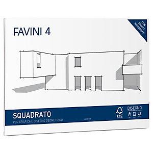 FAVINI Album Favini 4 - 33x48cm - 220gr - 20 fogli - liscio squadrato - Favini