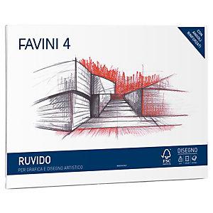 FAVINI Album Favini 4 - 33x48cm - 220gr - 20 fogli - ruvido - Favini