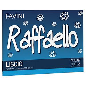 FAVINI Album Raffaello - 24x33cm - 100gr - 20 fogli - liscio - Favini