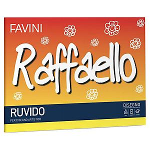 FAVINI Album Raffaello - 24x33cm - 100gr - 20 fogli - ruvido - Favini