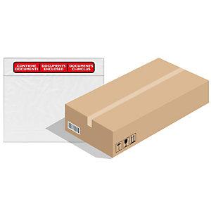 FAVORIT Busta adesiva Speedy Doc - con stampa CONTIENE DOCUMENTI - formato C5 (230x165 mm) - Favorit - conf. 1000 pezzi