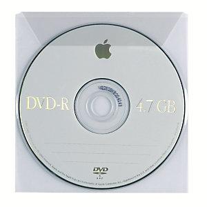 FAVORIT Buste porta CD/DVD con patella (confezione 25 pezzi)