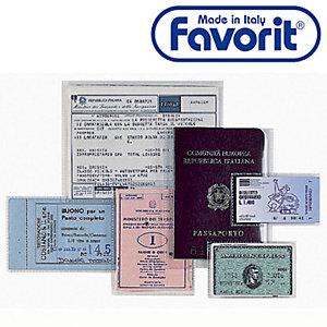 "FAVORIT Buste a U ""Upocket"" - F.to utile 22 x 30 cm (confezione 25 pezzi)"