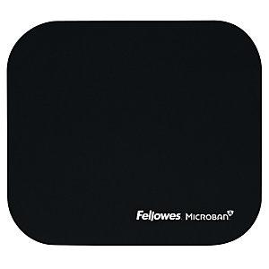 Fellowes Alfombrilla para ratón con protección antibacteriana, color negro