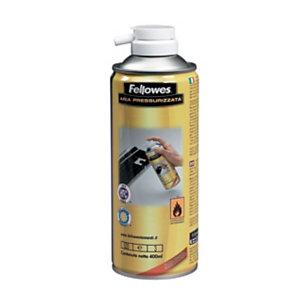 Fellowes Aria pressurizzata HFC free, Bomboletta 400 ml