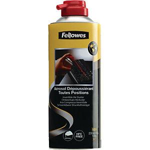Fellowes Aria pressurizzata invertibile, HFC free, Bomboletta 200 ml