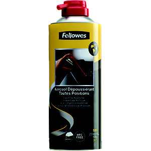 Fellowes Aria pressurizzata invertibile, HFC free, Bomboletta 200 ml