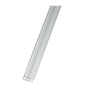 FELLOWES Baguettes pour reliure manuelle 9-12 mm transparente. (Lot de 50)