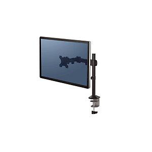 Fellowes Braccio porta monitor singolo Reflex Series, Nero