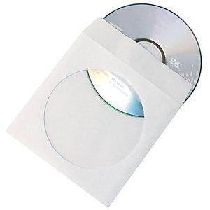Fellowes Buste per CD/DVD (confezione 50 pezzi)