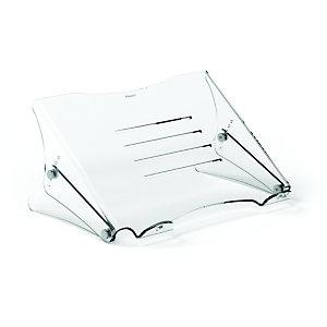Fellowes Clarity Soporte para portátil, transparente