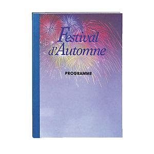 FELLOWES Couverture A4 pour thermorelieuse dos 1.5 mm bleu. (paquet 100 feuilles)