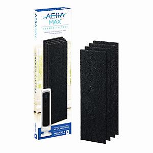 Fellowes Filtre charbon pour purificateur d'air AeraMax DX5 - Lot de 4