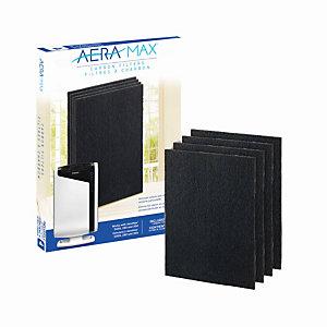 Fellowes Filtre charbon pour purificateur d'air AeraMax DX95 - Lot de 4