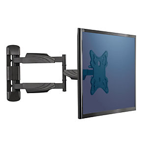 Fellowes Full Motion Braccio porta TV da muro, Nero